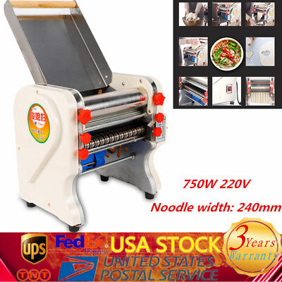 Stainless steel pasta maker kitchenaid pasta maker electric noodle machine 220v
