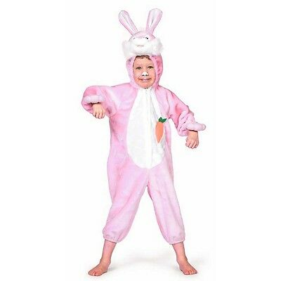 Children Baby Bunny Costume Animal Pink Rabit Love Carrot Fancy Dress - Rabit Costume