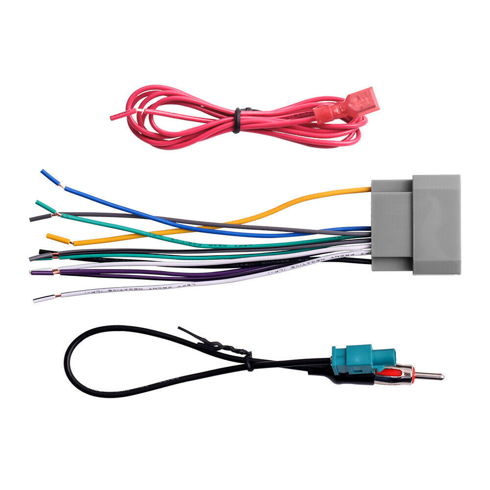 Car Stereo Radio Wiring Harness Antenna Adapter For Jeep Compass Wrangler New