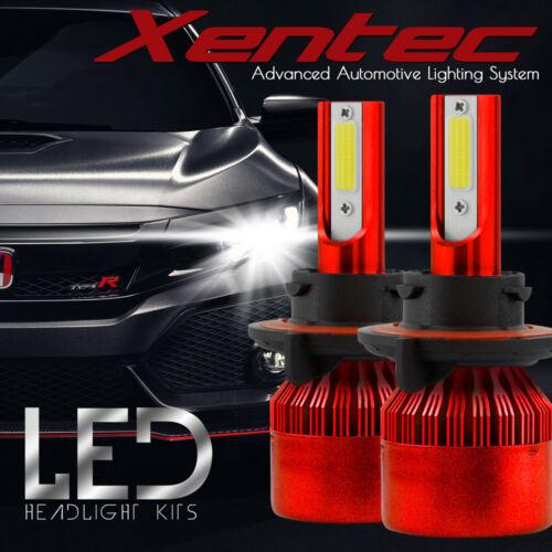 XENTEC LED HID Headlight kit H13 9008 White for 2009 2014 Dodge Challenger