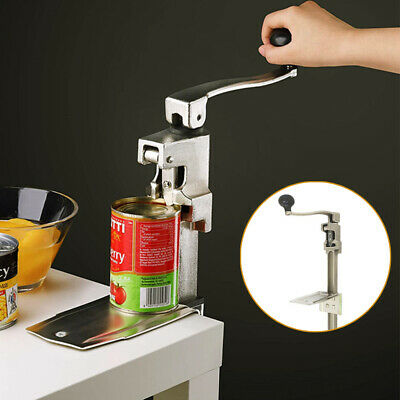 11 Commercial Kitchen Restaurant Food Can Opener Jar Lid Tool Table Stainless