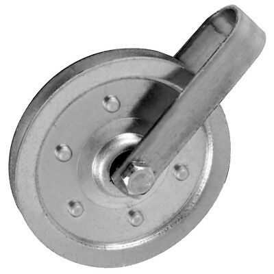 Garage Door 4 Inch Pulley w/Fork Bolt And Nut (Sold Each) (200 LB Load)