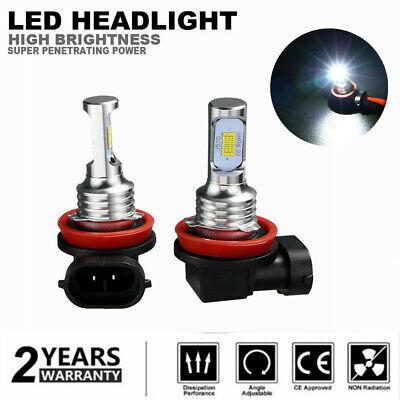 Pair H11 H8 H9 LED Fog Light Bulbs Conversion Kit Lamp 40W 6000K High (Best E Bike Conversion Kit 2019)