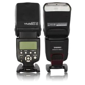 Yongnuo YN-560 II Flash Speedlite for Canon 580EX II 430EX II 650D