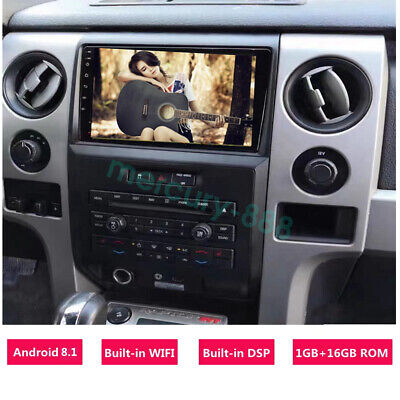 Android 8.1 Car GPS Navi Radio Multimedia System for FORD Raptor F150 2009-2014 for sale  Shipping to Nigeria