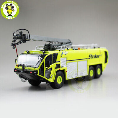 1/50 OSHKOSH Striker Airport Fire Truck Diecast Model Car Toys Boys Gifts Green