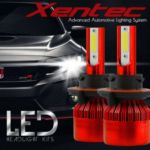 XENTEC LED HID Headlight Conversion kit H13 9008 6000K 2005 2012 d Mustang