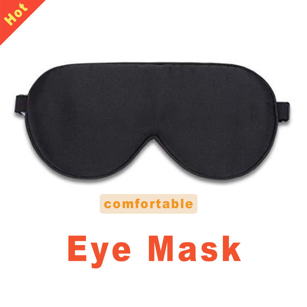 Eye Mask Shade Cover Rest Sleep  Natural Silk For Women & Me
