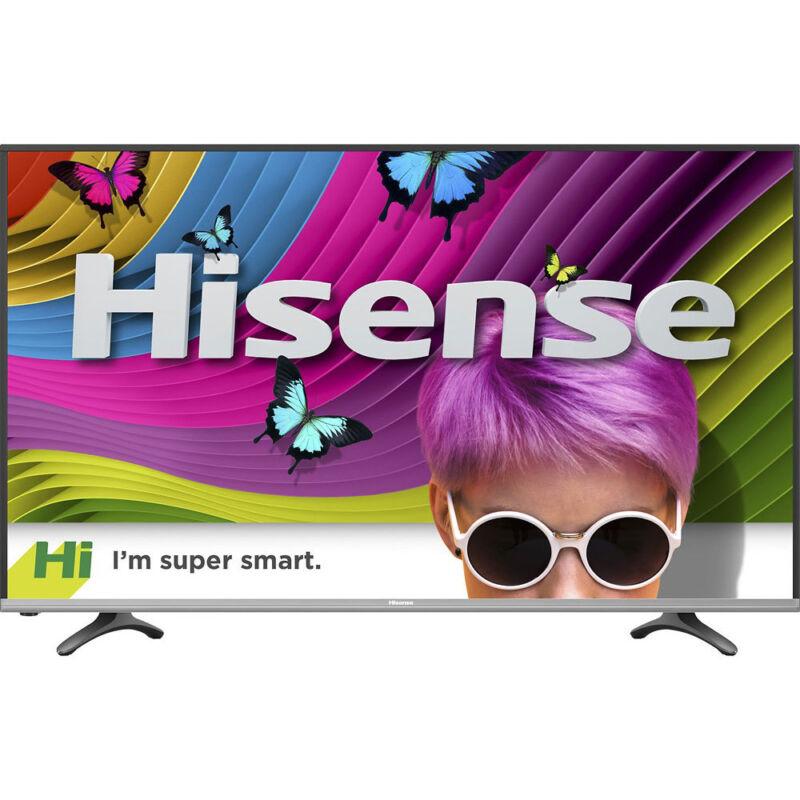 "Hisense 43"" Smart LED Ultra HDTV with 4K Resolution, 4HDMI, 3USB & WiFi - 43H7D"