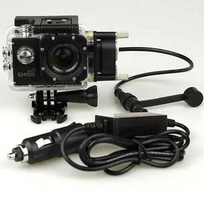 Original Waterproof Case Motorcycle Car Charger For SJCAM SJ4000 WiFi Action Cam