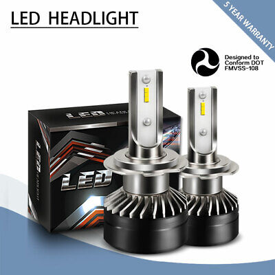 LED Headlight Kit H7 6000K 12000LM High Beam Bulbs for Ford Escape 2005-2007 (Best Electric Cars 2019)