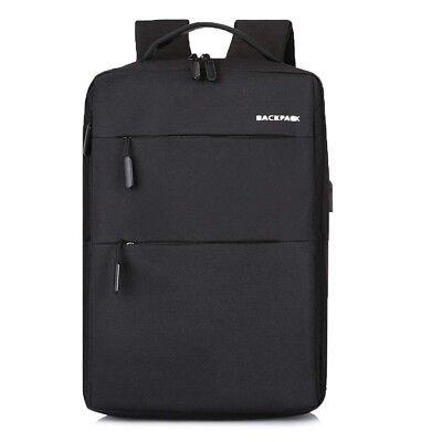 Zaino Zainetto USB porta PC Uomo Viaggio per Notebook Portatile Scuola 16 Laptop