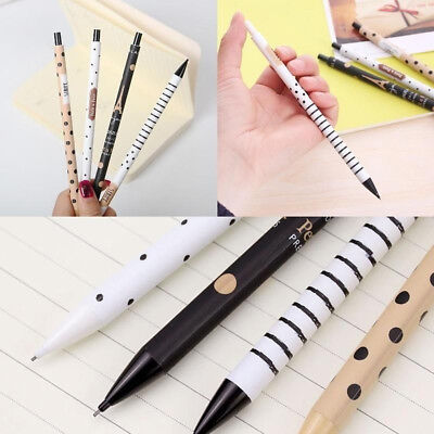 2Pcs New 0.5mm Cute Kawaii Mechanical Pencil Automatic Pen For Kids Stationery