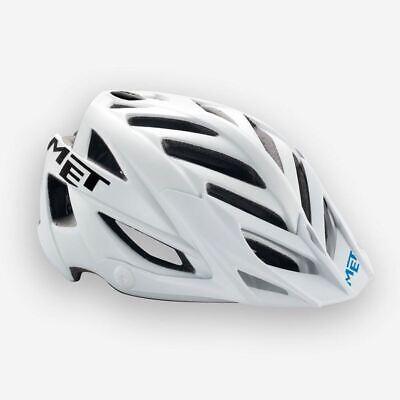 Bicicleta de Montaña Bici Casco Met Terra Talla Única - Mate Blanco