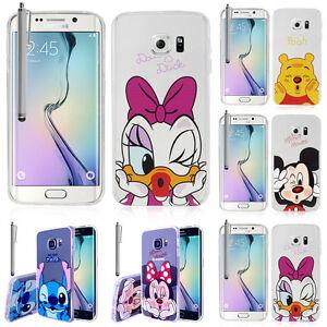 Coque-Etui-Housse-Silicone-TPU-Ultra-Fine-anime-jolie-pour-Seri-Samsung-Galaxy