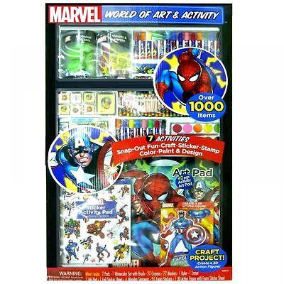 Marvel Avengers 1000 Teile Jumbo Kunst & Handwerk Set Ausmalen Toy Farbe