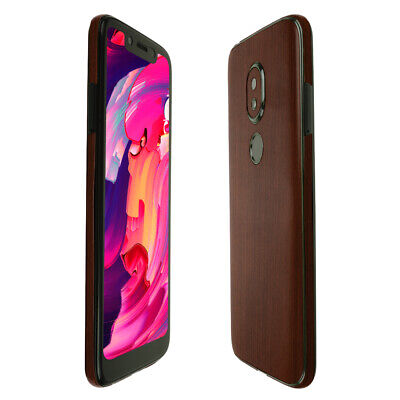 Skinomi Dark Wood Skin Cover For T-Mobile REVVLRY 5.7 Inch Display  - $15.95