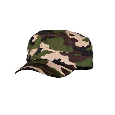 Armeekappe Militär Erwachsene Kostüm Zubehör Herren Damen Soldaten Neu