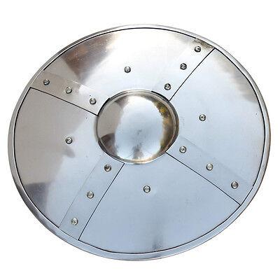 Battle Ready Medieval Buckler 14 Gauge Functional Shield  (Medieval Shields)