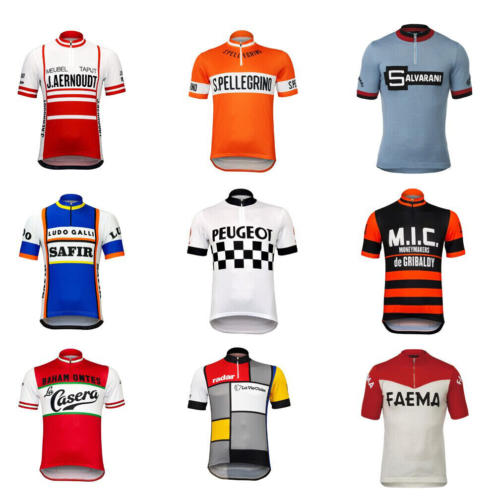 Half Zipper Retro Cycling Jerseys
