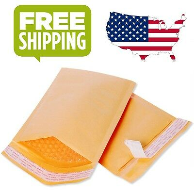 2550100 Kraft Bubble Mailers Padded Envelopes 4.5 X 8 Inch And 6.5 X 10 Inch