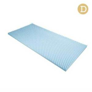 Gel Infused Egg Crate Mattress Topper  - Double Brisbane City Brisbane North West Preview