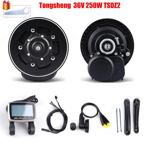 Tongsheng TSDZ2 36V 250W Mid Drive Motor Conversion Kits Torque Sensor Ebike Kit
