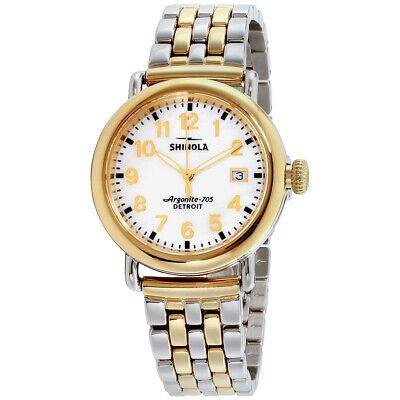 Shinola The Runwell Quartz Movement Mother of Pearl Dial Ladies Watch 10000237