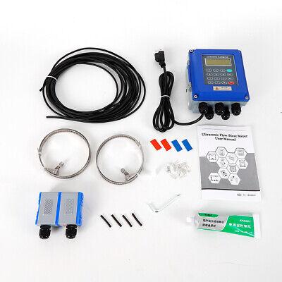 Ultrasonic Flow Meter Tuf-2000btm-1 Dn50dn700m Fixed Clamp On Flowmeter Us Top