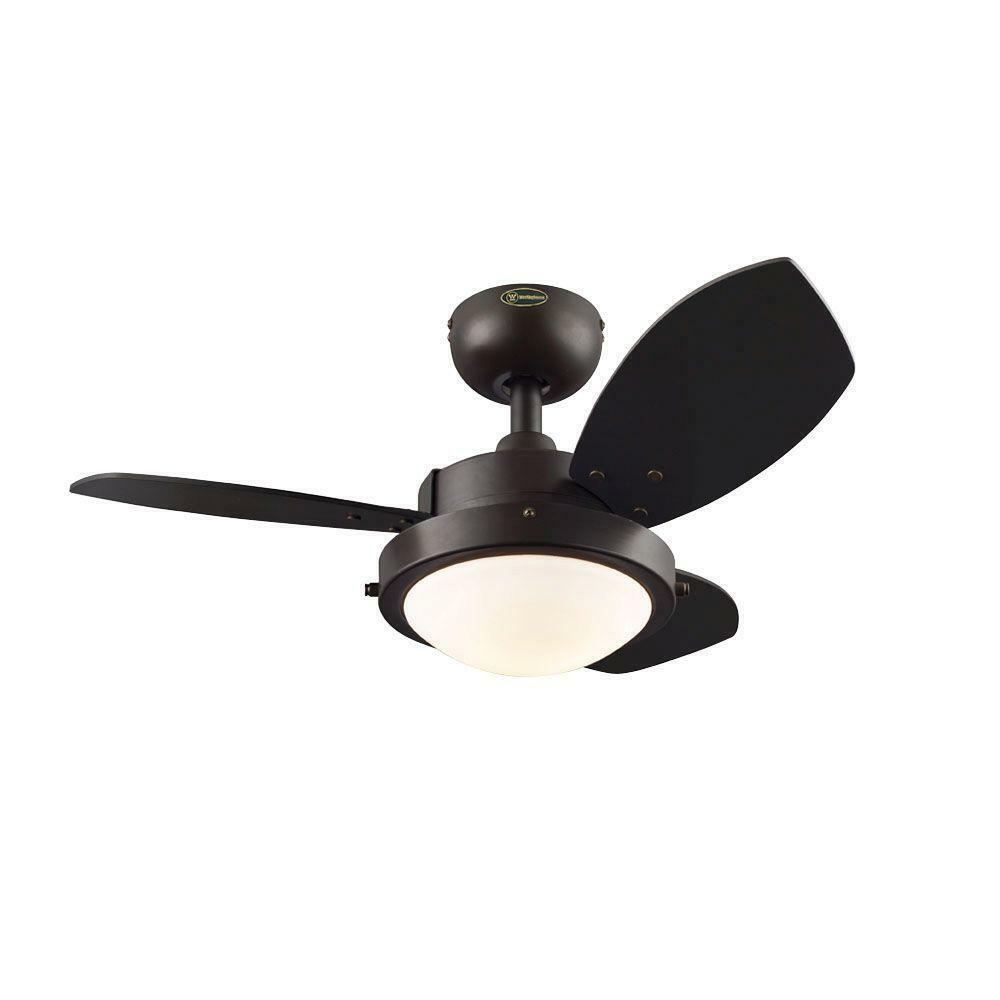 Small Ceiling Fan Light 30 In 3 Blades