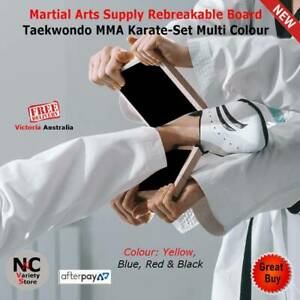 Martial Arts Supply Rebreakable Board Taekwondo MMA Karate-Set Multi C