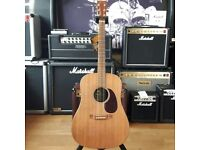 Martin DX1 Dreadnought Elecro Acoustic Guitar Pre-Owned