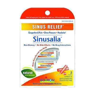 Boiron Sinusalia Sinus Homeopathic Medicine 2 Tubes 160 pellets