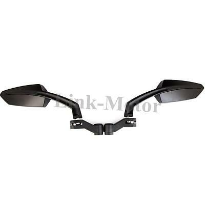 New Wing Style Universal Motorcycle Motorbike Bike Scooter RearView Side Mirrors