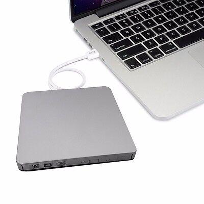 USB 3.0 Externes CD/DVD-RW Brenner Writer Laufwerk für Apple Macbook Pro Air PC@