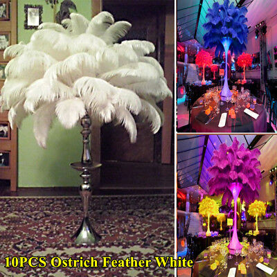 Wholesale10pcs beautiful natural ostrich feathers