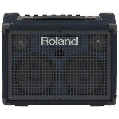 "Roland KC-220 Battery Powered Stereo Keyboard Amplifier 30W 2x6.5"" 3-Ch Effects"