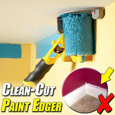 USA Clean-Cut Paint Edger Roller Brush Safe Tool for Home Room Wall Ceiling