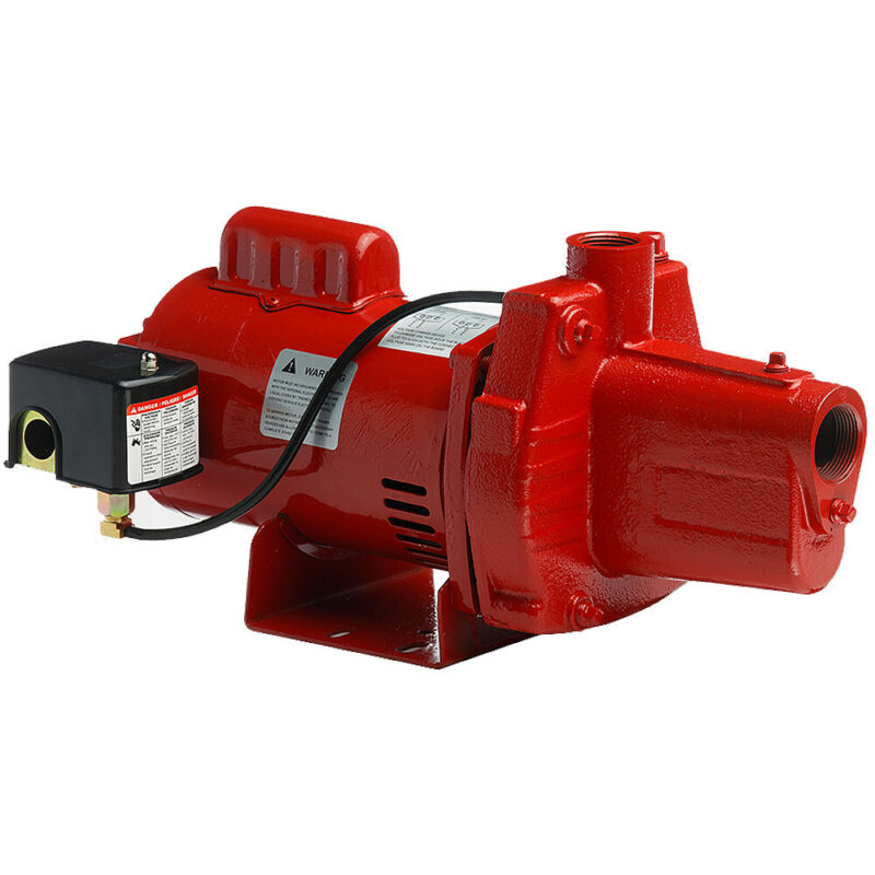 Red Lion 23 GPM 1 HP Cast Iron Shallow Well Jet Pump