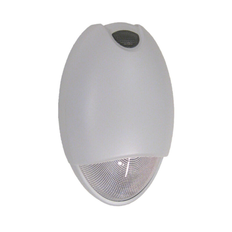 white Architectural Emergency Exterior Wall LED Light Fixture