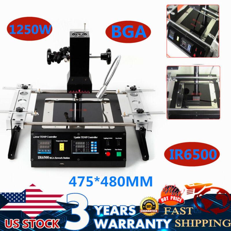 IR6500 Infrared BGA Soldering Rework Station Repair Heating Machine 110V 1250W