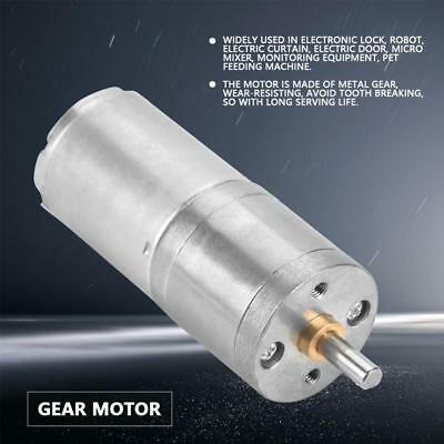 Dc12v 25mm 5-1000rpm Gear Motor 25ga-370 Low Speed Metal Gear Motor For Diy Inm
