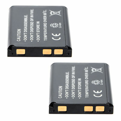 2PCS Li-42B Li-40B Li-ion Battery Store b quit for Olympus FE-360 FE-20 FE-240 TG-320