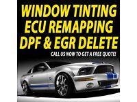 Professional Car window tinting \ ECU Remapping \ DPF & EGR Delete