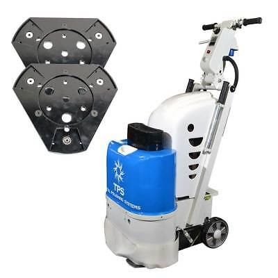 TPSX1 Floor Preparation Machine / Concrete Floor Grinder with 2 Quick Plates
