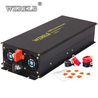 2500W Pure Sine Wave Inverter 12V to 110V 120V DC to AC Power Converter Car RV