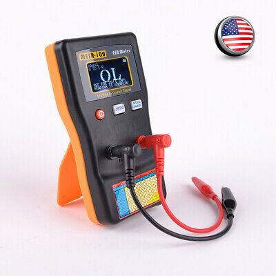 MESR-100 Capacitance Ohm Meter Professional Measuring Capacitor Circuit Tester