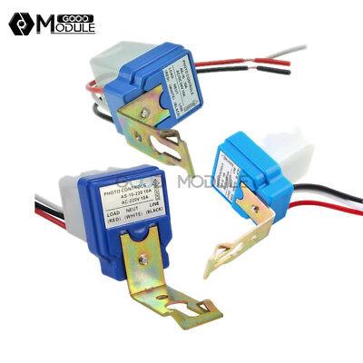 Ac Dc 12v 24v 220v Auto On Off Light Lamp Sensor Switch Control Photocell Street