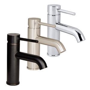 Euro modern bathroom vessel vanity sink faucet lavatory for Modern bathroom faucets sale