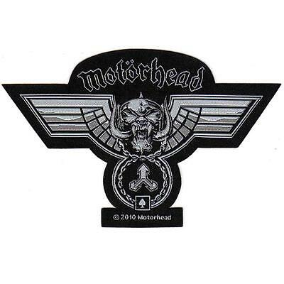 OFFICIAL LICENSED - MOTORHEAD - HAMMERED CUT OUT SEW ON PATCH METAL LEMMY